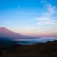 赤富士と雲海