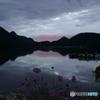榛名湖の夜明け