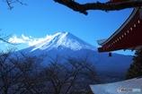 富士山を望む2