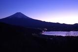 染まり行く富士山