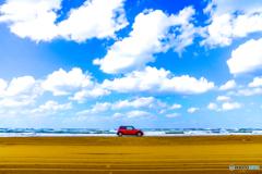 青空と愛車
