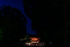 糺ノ森のなかの下鴨神社