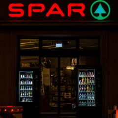 supermarket in midnight
