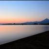 夜の境界線  ~志田浜の静かな夕暮れ~ 2