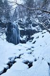 冬彩不動滝 2