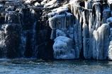 冬晴 ~厳冬阿武隈川の氷瀑~