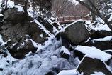 厳冬滝川渓谷 ~橋下滝~