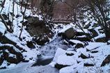 冬彩滝川渓谷 ~橋下滝~