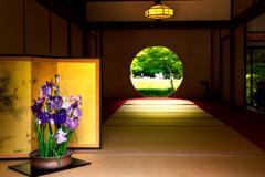 初夏の円窓