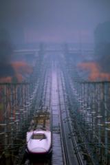 雨の新幹線 I