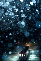 雪降る夜明け前 II