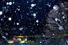 雪降る家路