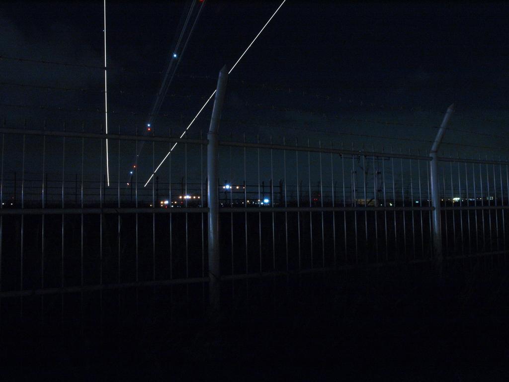 夜空の航跡