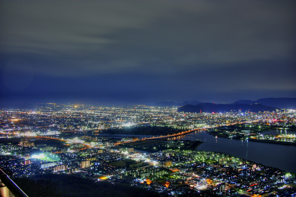 Nightview from YASHIMA