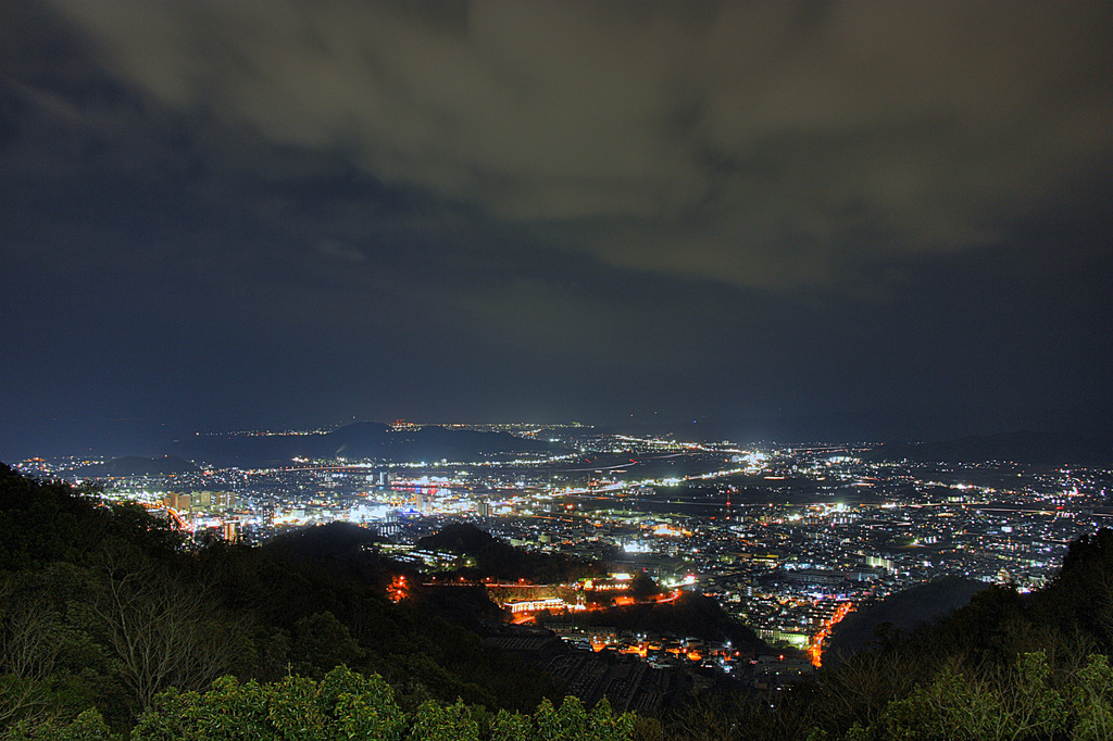 Nightview from BIZAN Ⅲ