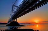 鳴門海峡の朝
