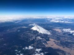 富士を見下ろす