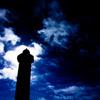 梅雨明けの東平安名崎灯台