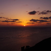 2月岬で日の出