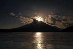 Frozen diamond Fuji