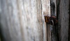 閉じられた扉