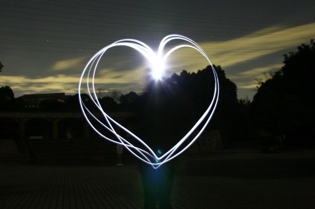 愛してるのサイン。。。