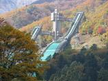 秋のジャンプ台