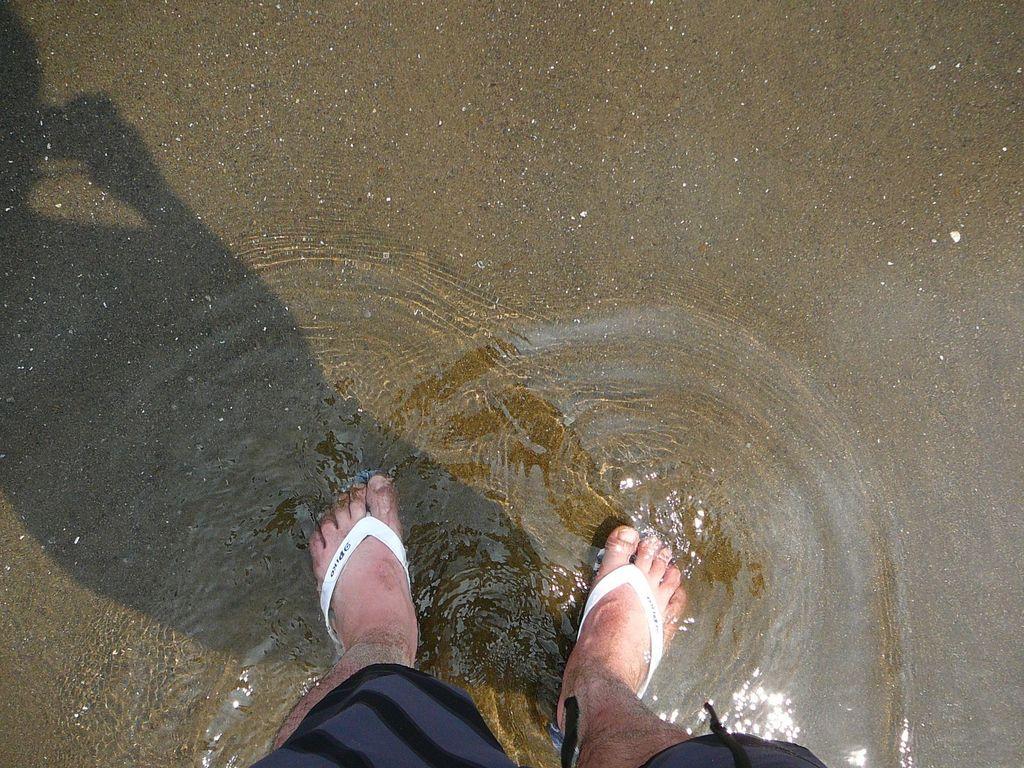 35歳の足