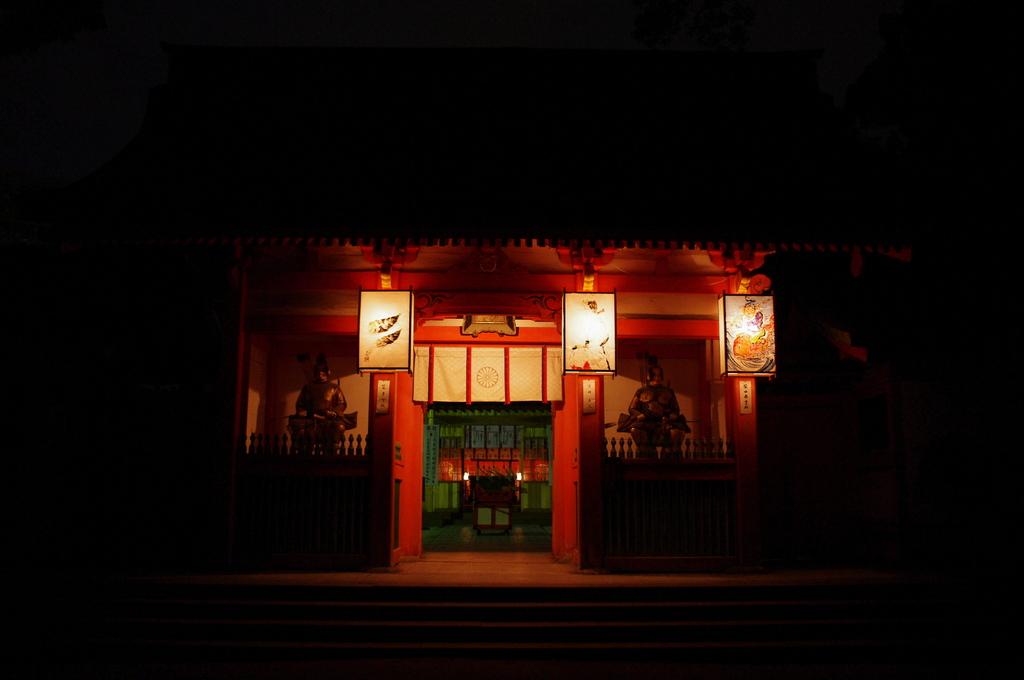 住吉神社にて2