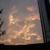 夕焼け秋空。