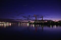 Industrial region of daybreak