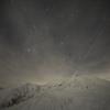 Vapor trail of the night