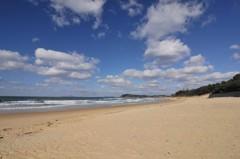 近所の海岸