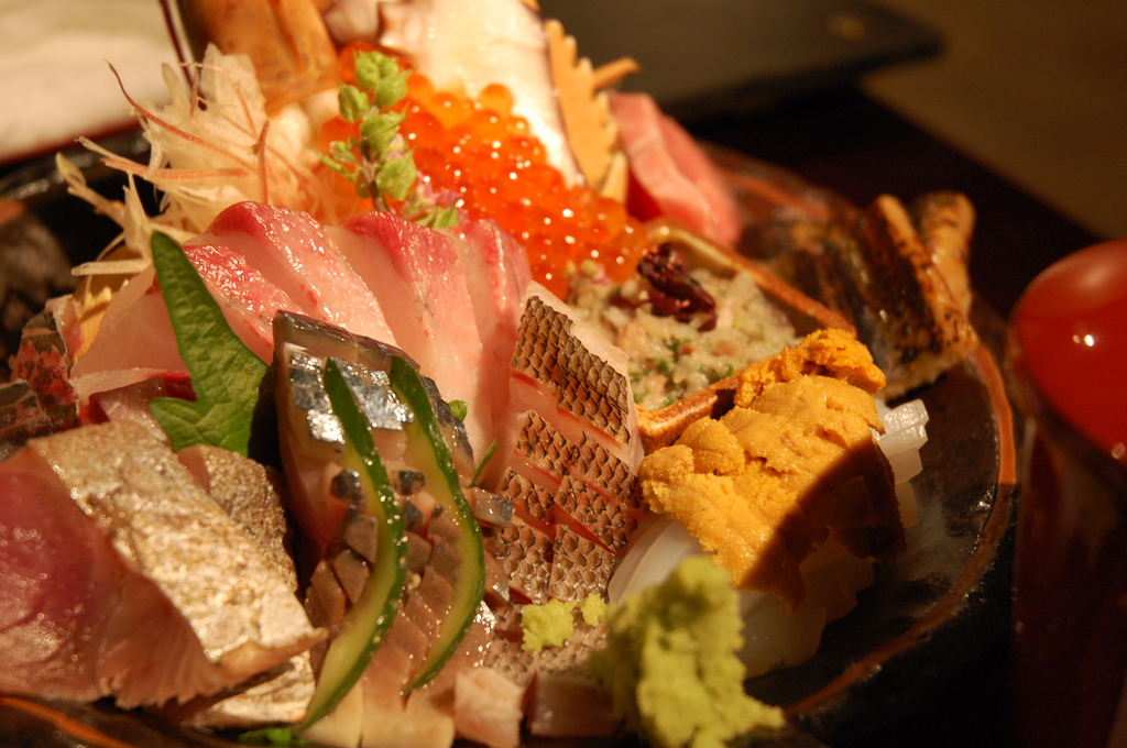 佐伯の特上海鮮丼