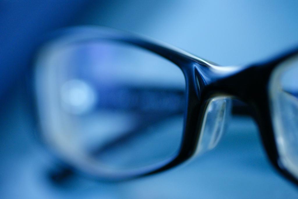 愛用の眼鏡