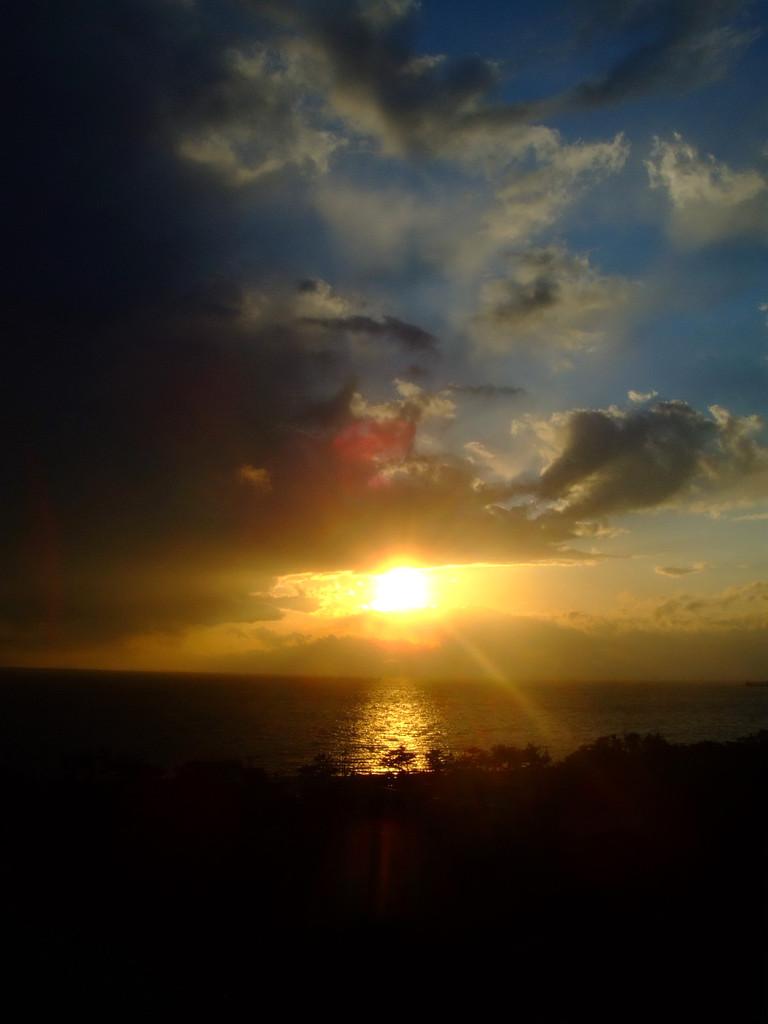 愛知の夕景