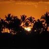 ハワイ島 夕焼け