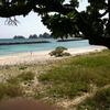 iPhoneにて撮影:阿嘉島のビーチ