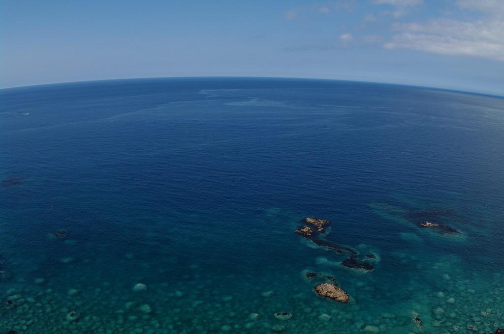 海と空との境界線