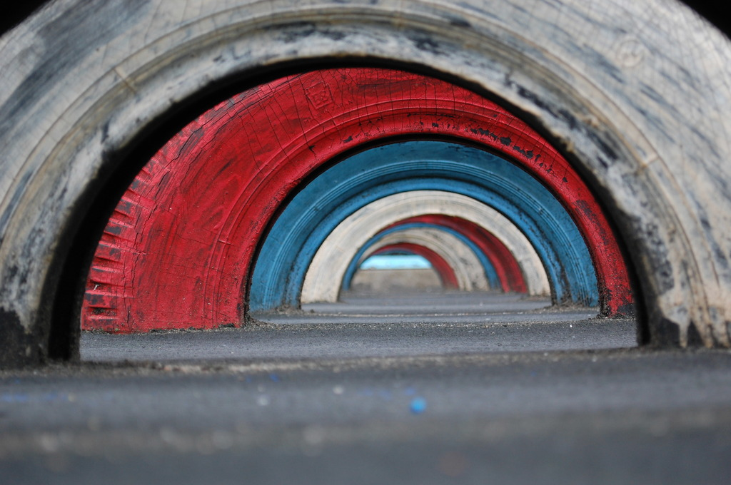トンネル?
