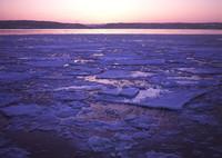 BRONICA GS-1で撮影した風景(流氷)の写真(画像)