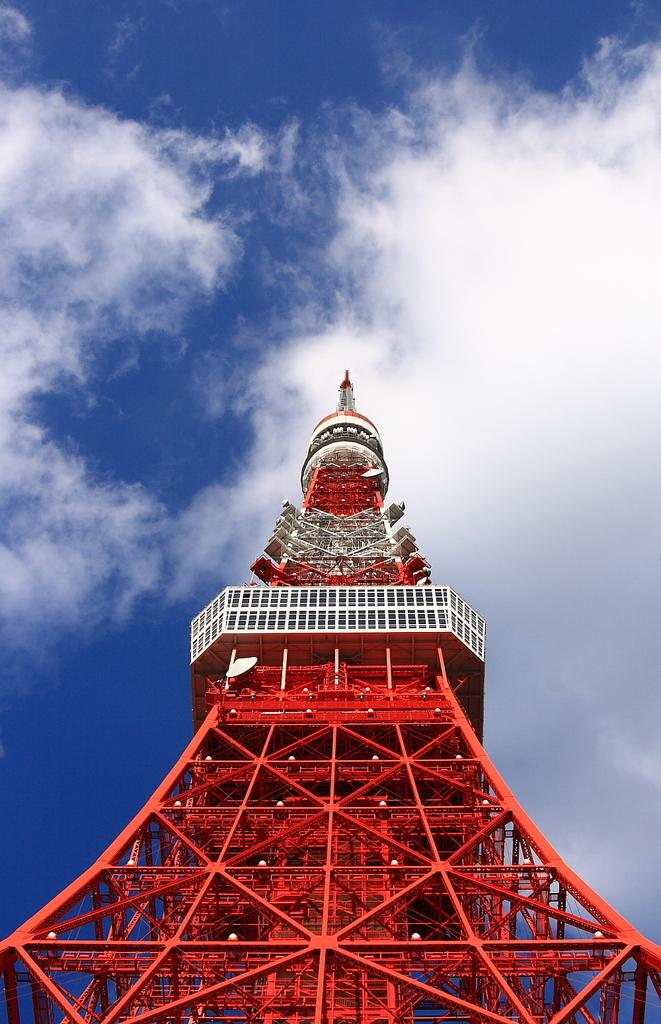 バーンと東京タワー