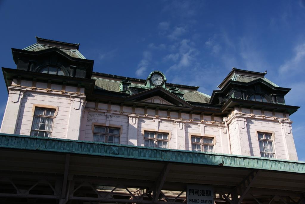 レトロな門司港駅