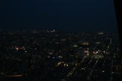 スカイツリーからの夜景