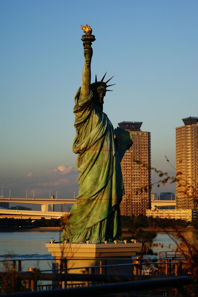 N.Y.へ行きたいかぁ~!