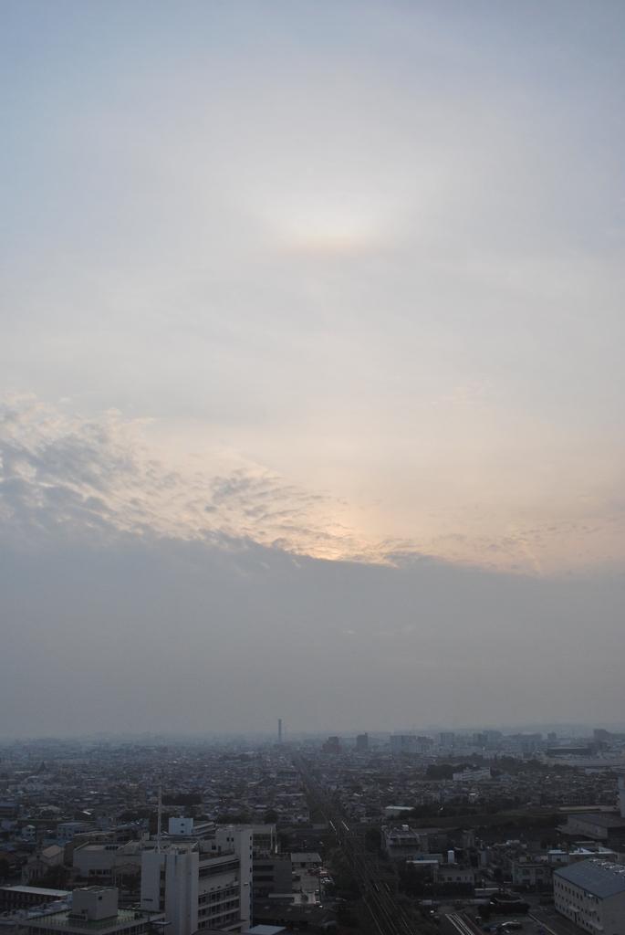 ふたつの夕日