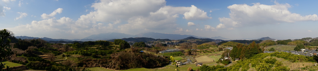明日香・平田 みかん畑からの眺望