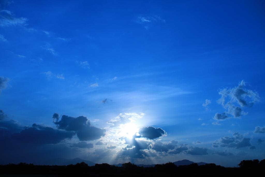 Bule sunset !!