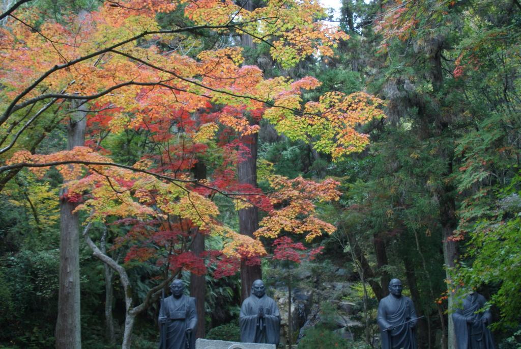 三滝寺にて