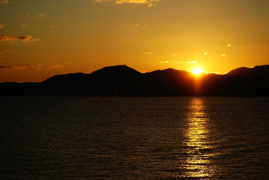 瀬戸内の夕焼け2